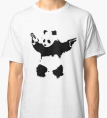 Banksy - Panda With Guns Classic T-Shirt