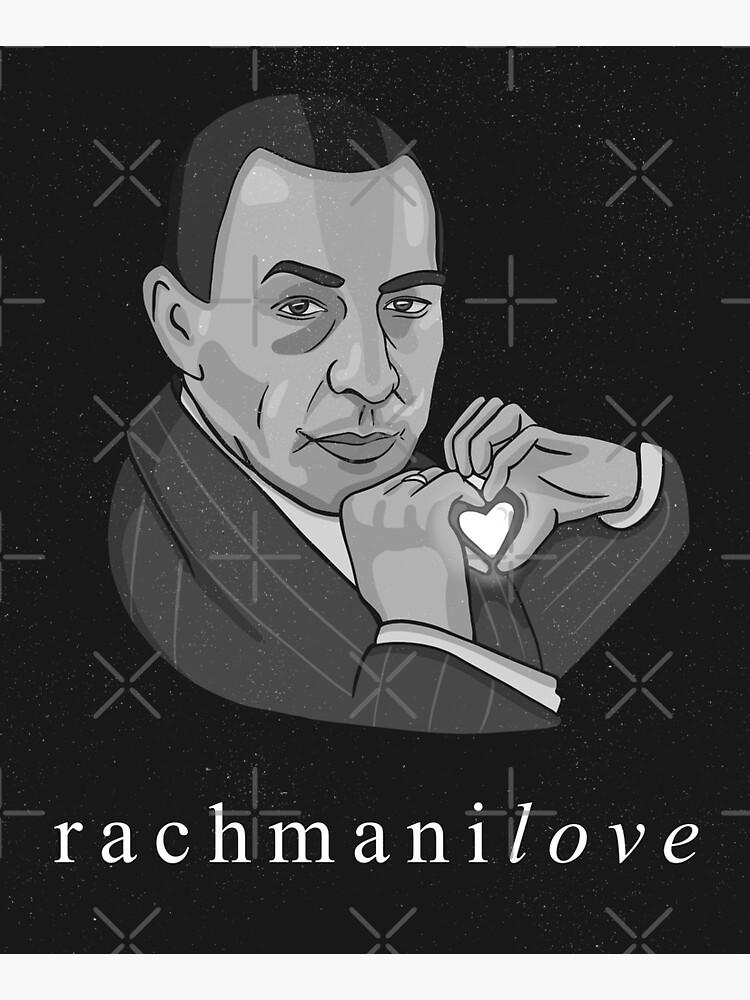 """Rachmaninov """"RachmaniLOVE"""" classical composer funny by jasmijndeklerk"""