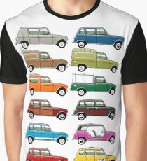 Renault 4 Graphic T-Shirt