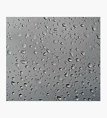 Regen Photographic Print