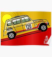 Renault 4 Sinpar 4x4 Poster