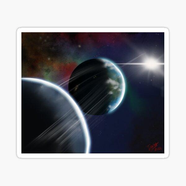 Planetary Neighbours Sticker