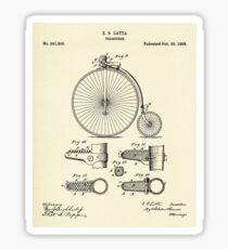Velocipide-1888 Sticker