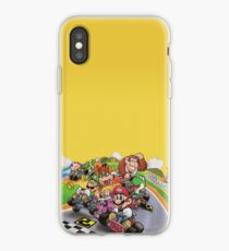 Mario Kart Extended illustration iPhone Case