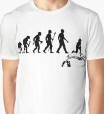 Funny Paleontologist Evolution  Graphic T-Shirt