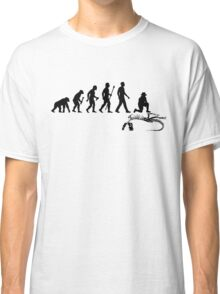 Funny Paleontologist Evolution  Classic T-Shirt