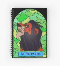 The rightful king? - stained glass villains Spiral Notebook