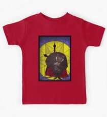 Steal the crown jewels - stained glass villains Kids Clothes
