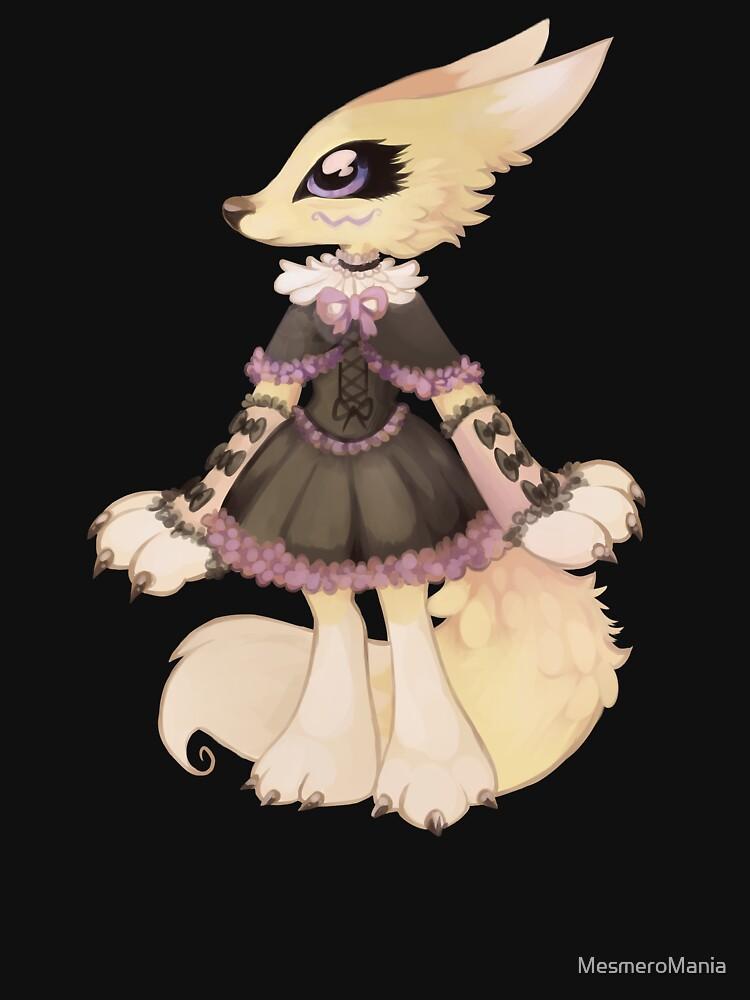 Gothic lolita Renamon by MesmeroMania