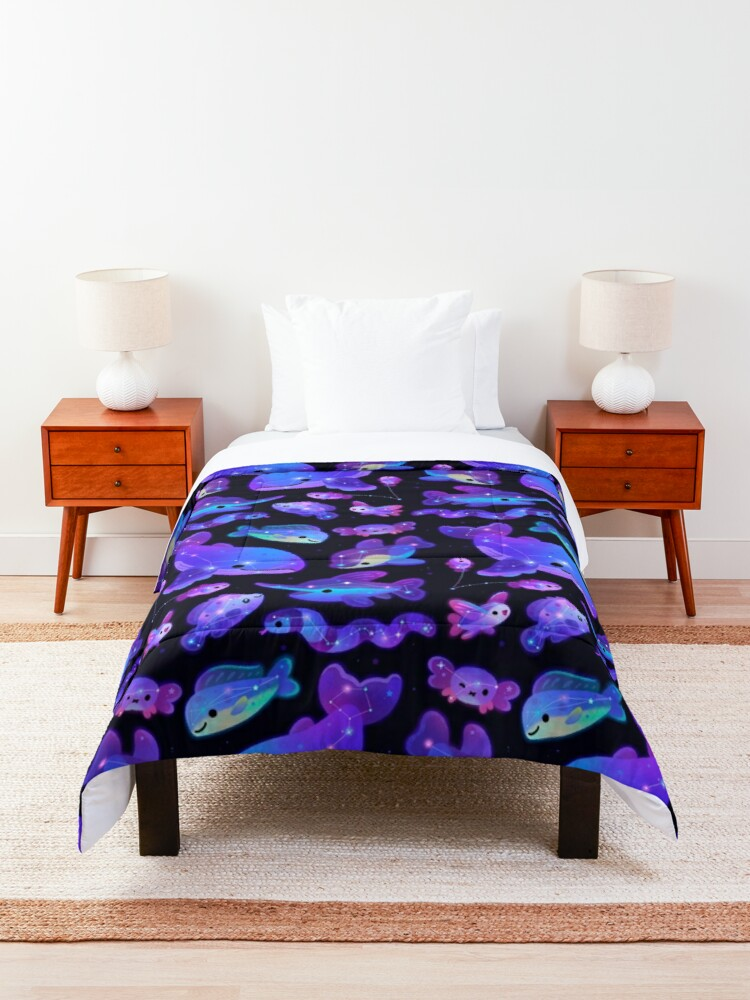 Alternate view of Ocean constellations Comforter