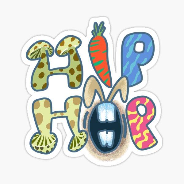 easter HIP HOP Sticker