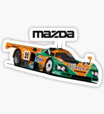 Pegatina Vintage Le Mans