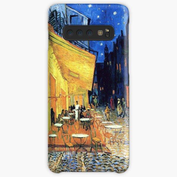 Vincent van Gogh - Die Café-Terrasse auf dem Place de Forum in Arles bei Nacht Samsung Galaxy Leichte Hülle