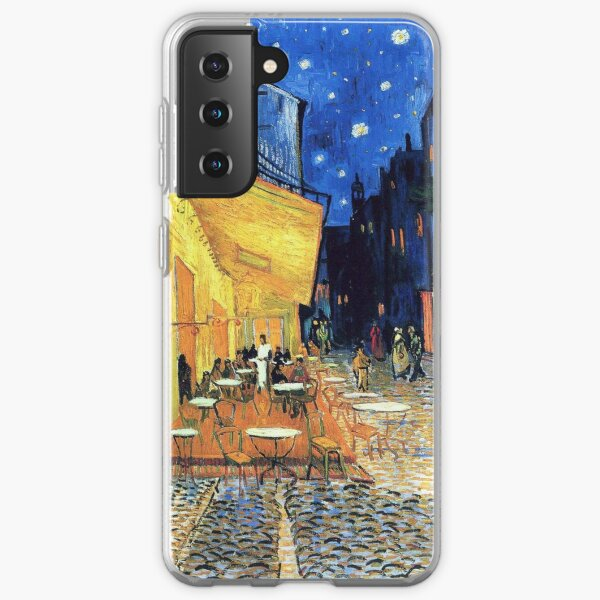 Vincent van Gogh - The Cafe Terrace on the Place de Forum in Arles at Nigh Samsung Galaxy Soft Case