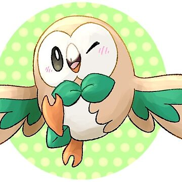 Rowlet sticker by nsuprem