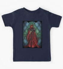 King of the undead - Stained Glass Villains Kids Tee
