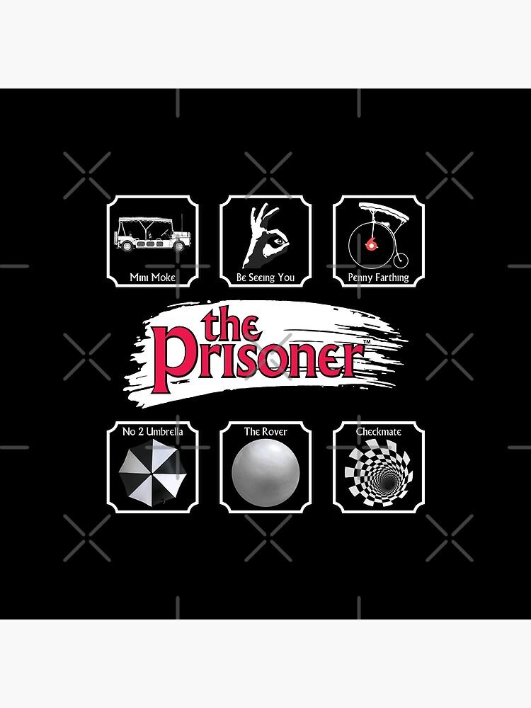 THE PRISONER - STICKER PACK by KoolDsigns-FLIX