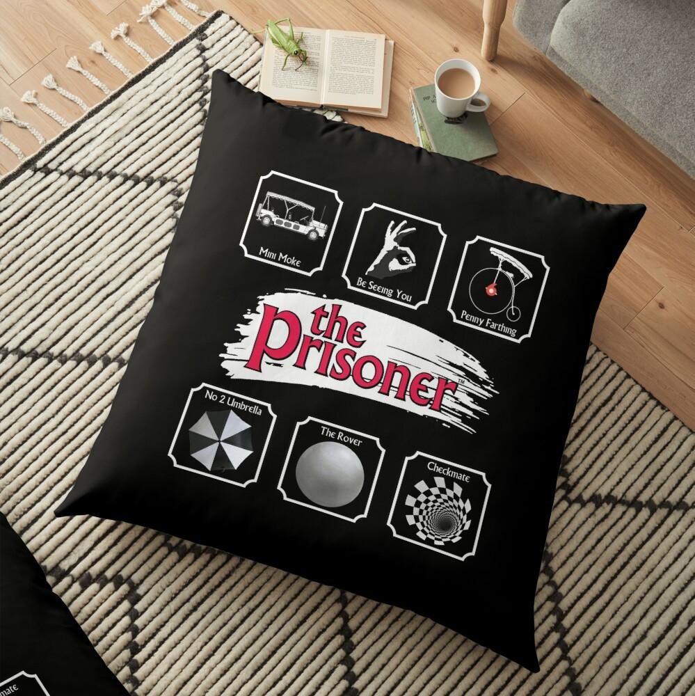 THE PRISONER - STICKER PACK Floor Pillow