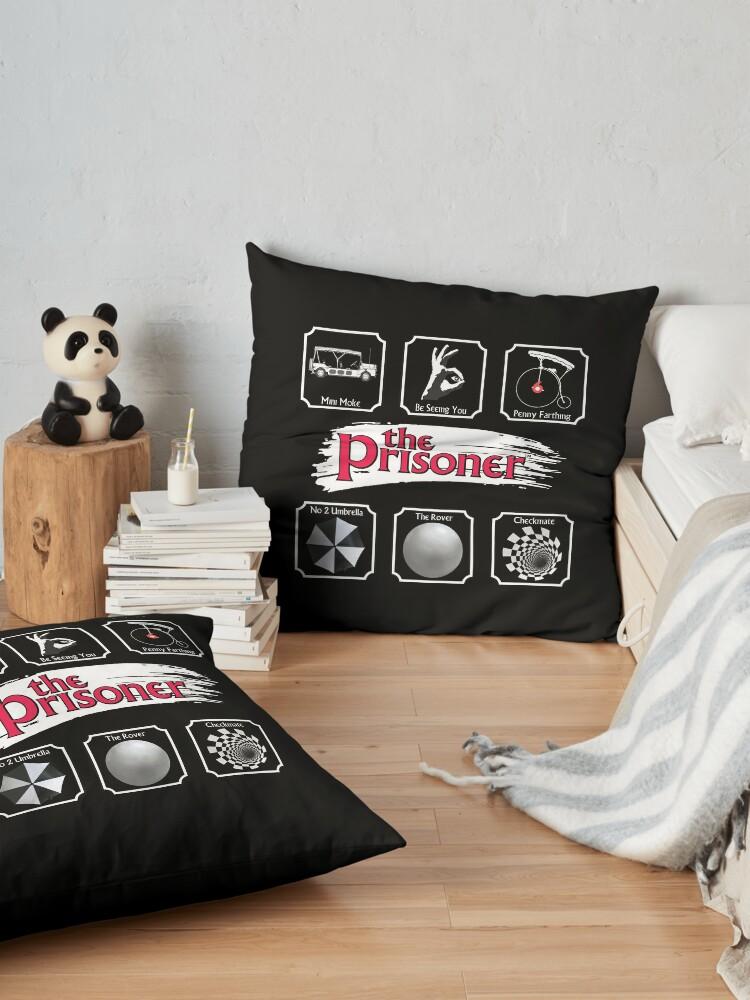 Alternate view of THE PRISONER - STICKER PACK Floor Pillow