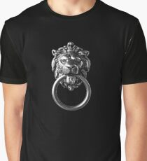Lion Door Knocker better than McQueen Graphic T-Shirt