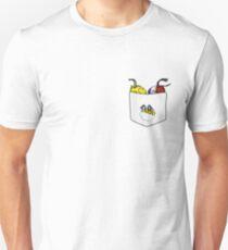 Camiseta ajustada Protector de bolsillo - DRD