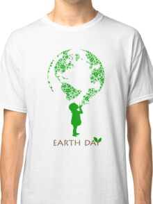 Earth Day Child Classic T-Shirt