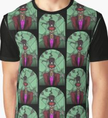 Voodoo Doctor - stained glass villains Graphic T-Shirt