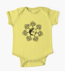 Earth Tree People (black) Kids Clothes