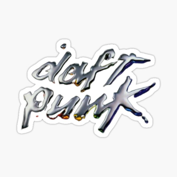 Daft Punk Sticker