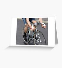 Chrome Fixie Greeting Card