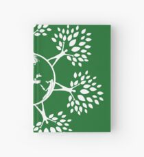 Earth Tree People (white) Hardcover Journal