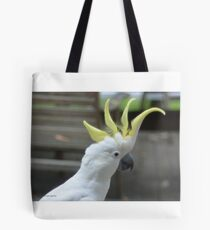 sulfur crested cockatoo Tote Bag
