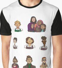 Portraits Graphic T-Shirt