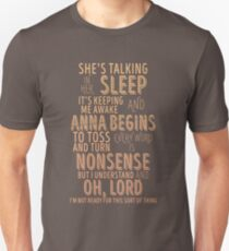 Anna Begins // Counting Crows Unisex T-Shirt
