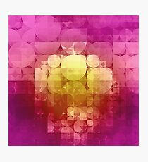 matted geometry Photographic Print