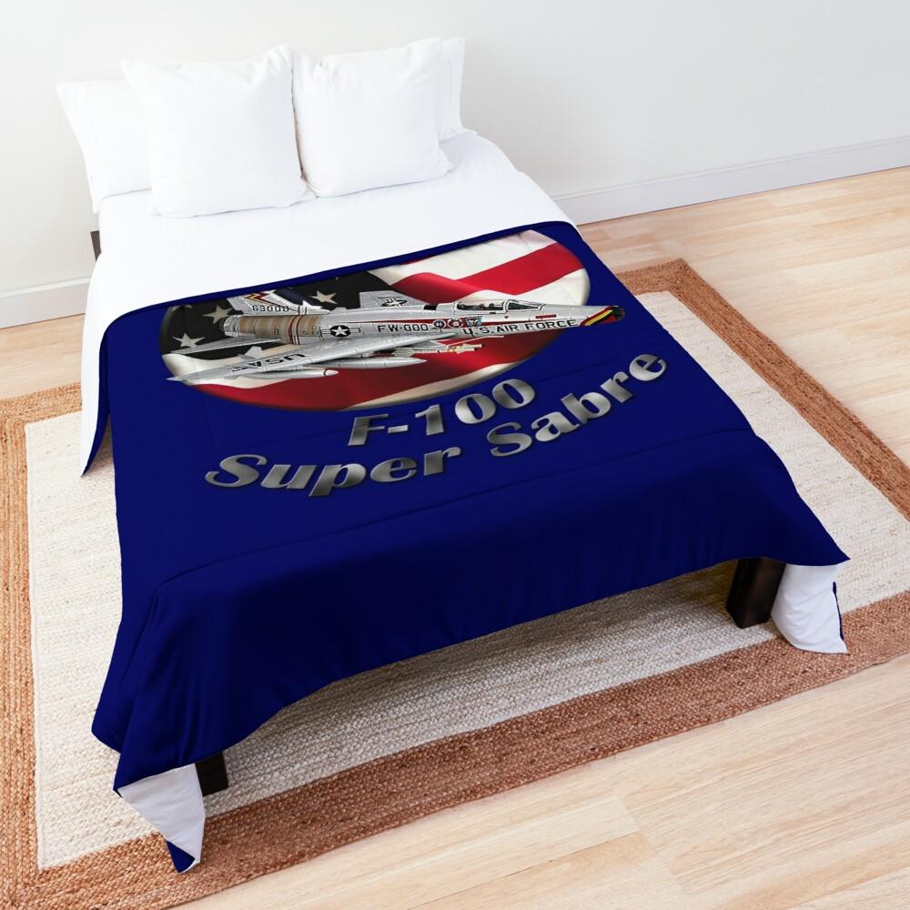 F-100 Super Sabre American Airpower Comforter