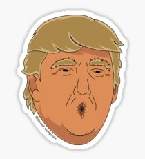 Donald Trumphole - Donald Trump Parody Stickers Sticker