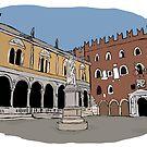 Signori Square,Verona by Logan81