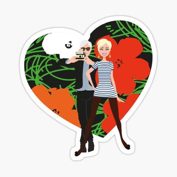 Andy & Edie tribute 5 Sticker fini brillant