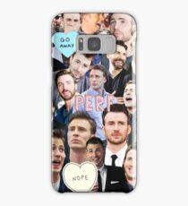 Chris Evans Collage Samsung Galaxy Case/Skin
