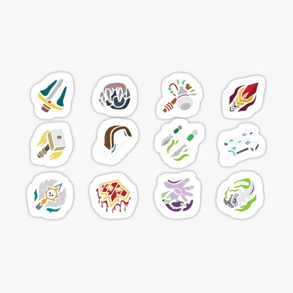 WoW - Class Icons Sticker