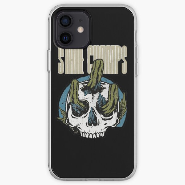 cactus from inside skull iPhone Soft Case