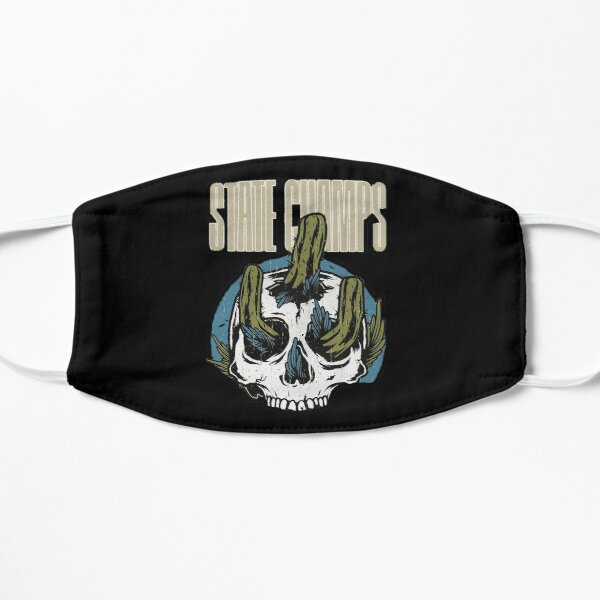 cactus from inside skull Flat Mask