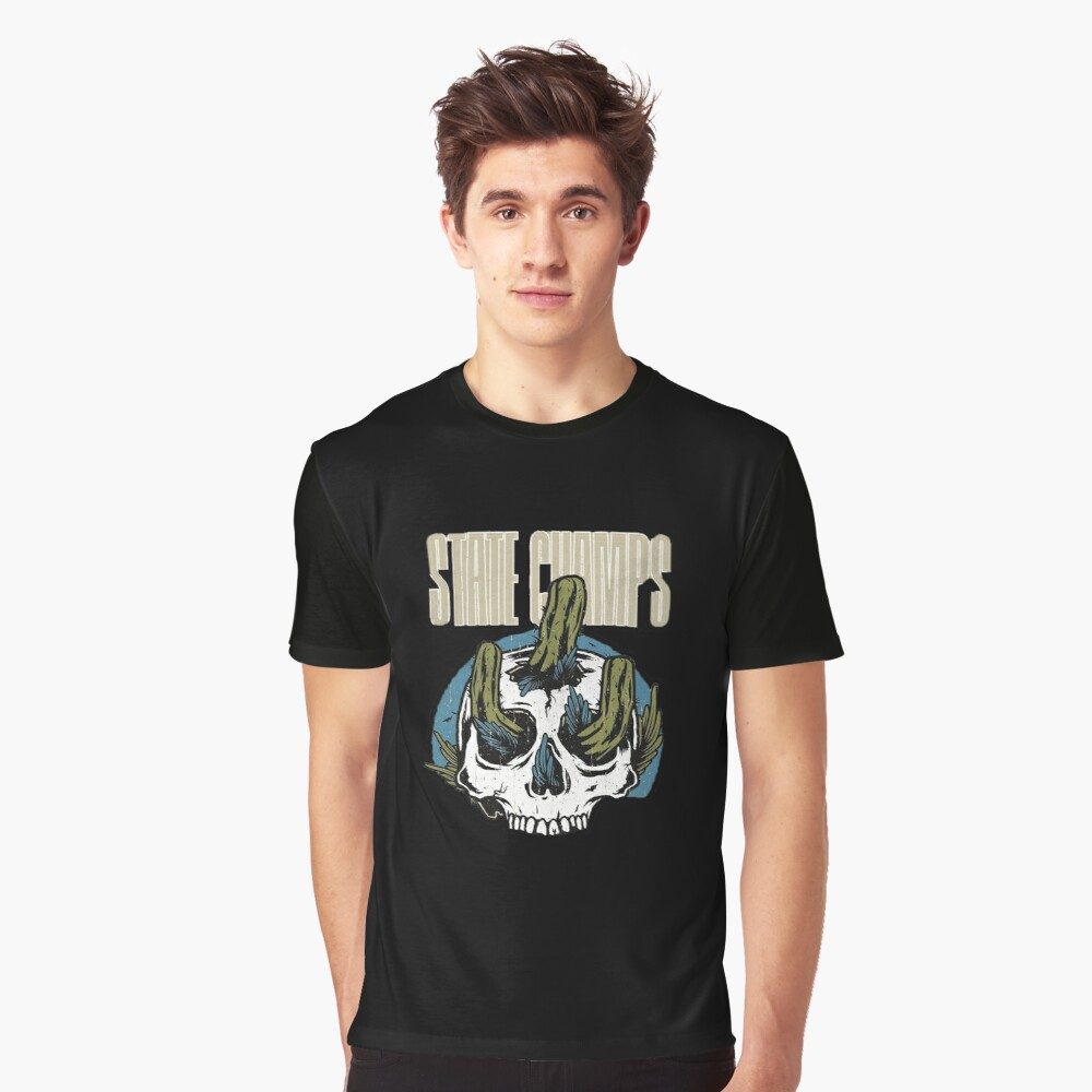 cactus from inside skull Graphic T-Shirt