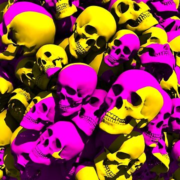 Banana Strawberry Skull by thekinginyellow