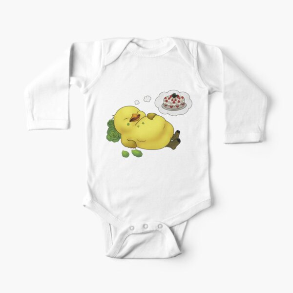 Tubby Chocobo Body manches longues