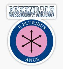 E Pluribus Anus Sticker