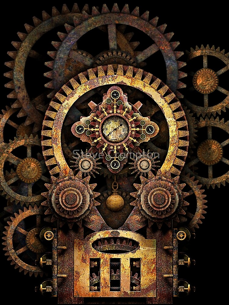 Infernal Steampunk Vintage Machine #2B by SC001