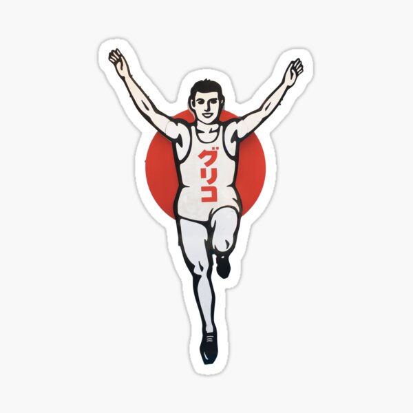 Glico Man Sticker