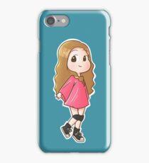 Tiffany I just wanna dance chibi iPhone Case/Skin